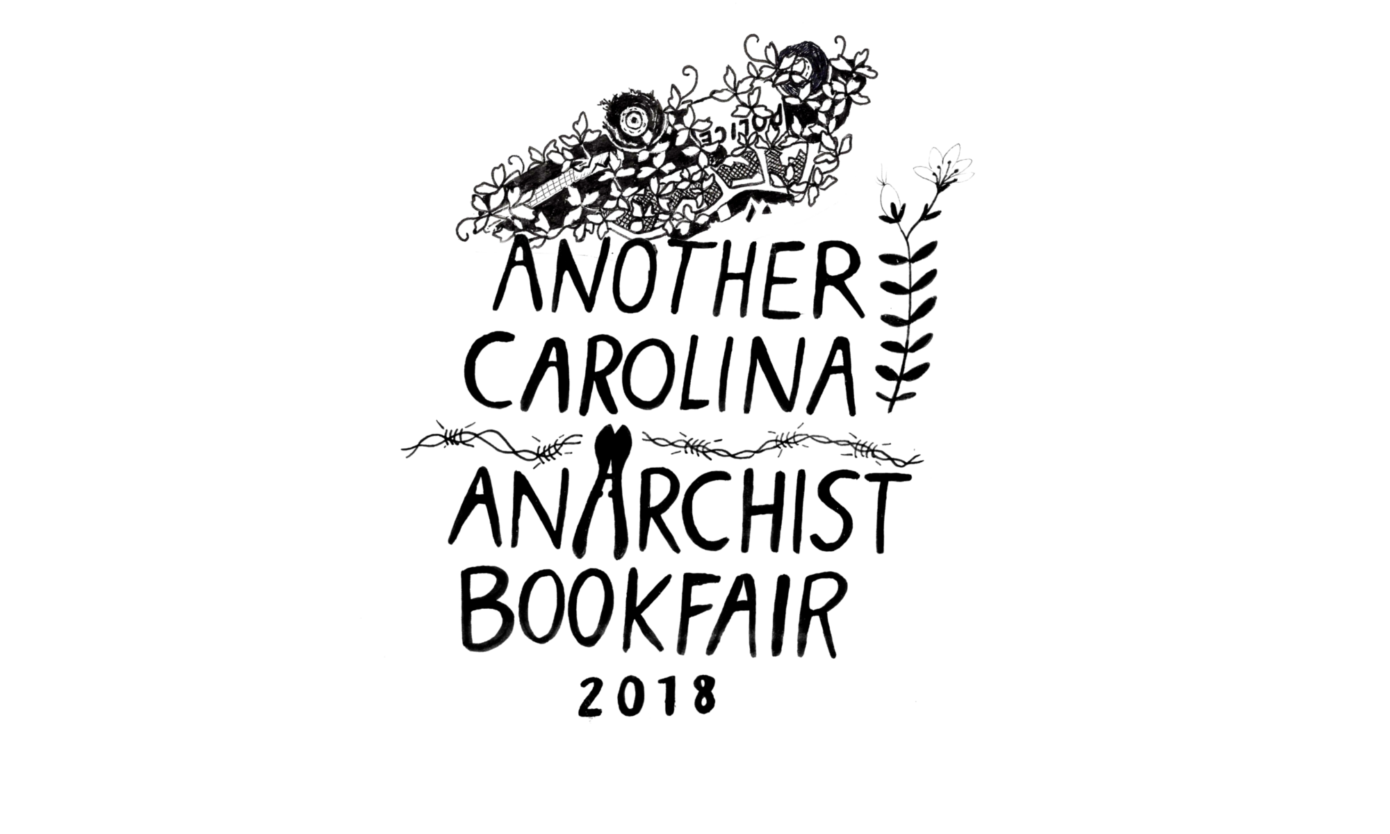 Another Carolina Anarchist Bookfair June 22-24 2018